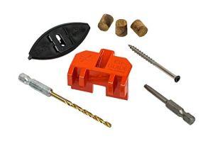 Simpson EB332WDR275 Kit de fixation de terrasse avec attaches solides pour fixation de terrasse #7 par 2-1/4″ EBTY 305 3/32″