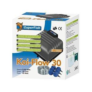 Superfish 671042/3900 Koi Flow 30 Kit de Ventilation avec Tuyau et diffuseur