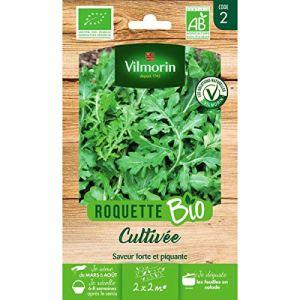 Vilmorin – Sachet graines Roquette cultivée BIO