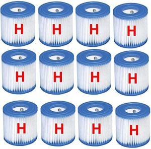 Wozoaoasq Cartouche de Filtre pour Piscine de Type H« Packung mit 12