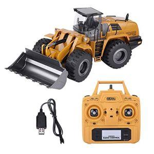 XINRUIBO Pelle, 2.4G 01h14 Avant Télécommande entièrement Fonctionnelle Tractor Modèle électrique à Distance de contrôle Camion Jouet Voiture Camion de Chantier rc