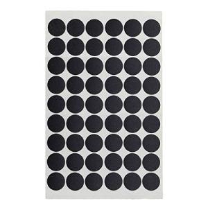 Yardwe Lot de 54 capuchons de valve en PVC pour meubles, bureau, maison – Noir brillant