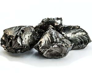0,5 kilogram Elite solide Cristal shungite pierres, Silver, L: 0.8-1.95 Oz per one crystal