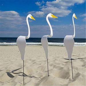 3 Pcs Swirl Bird-un Oiseau Lunatique et Dynamique qui Tourne Avec la Légère Brise de Jardin, Carillons à Vent Flamingo Pour la Saint-Valentin, Décoration de Jardin