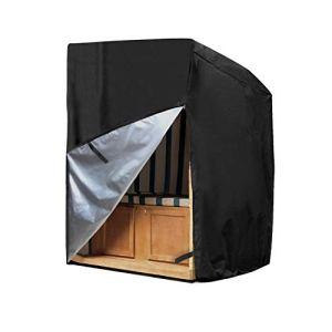 Awnic Housse de protection imperméable en tissu Oxford indéchirable 140 x 110 x 180 cm