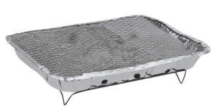 BBQ barbecue jetable 211614, complet avec-set. et allumeurs charbon), pratique et facile à tout moment et n'importe où