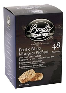 Bradley Smoker btpb48Pacific Blend bisquetten 48Pack