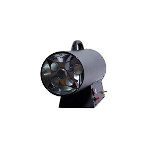 Canon à chaleur au gaz FUXTEC GH33-33 kW puissance de chauffage, 1000 m³/h débit d'air chaud, chauffage industriel gaz butane – propane