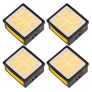 Carkio Lot de 4 filtres à air compatibles avec scie à béton Husq-varna K760 K 760 5254706-01 5743623-01 525470601 574362301