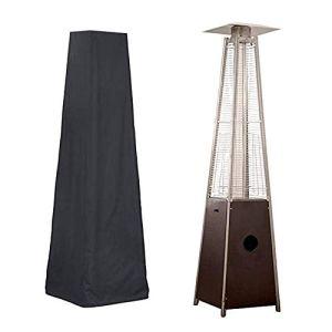 CSPone Housse pour Parasol Chauffant de Style Pyramidal pour Parasol Chauffant Imperméable Housse de Protection