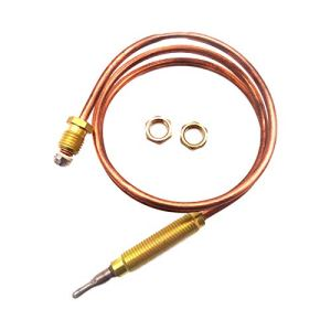 Dubleir Thermocouple Universel Gaz, 24 Pouces Universel À Gaz Thermocouple Kit, Kit De Fixation pour Thermocouple Universel, pour Heat & Glo & Hearth & Home Fire Places
