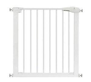 Fermer automatiquement la clôture de la sécurité de la sécurité, la clôture de l'isolation de chien de compagnie la clôture de l'installation sûre et pratique La largeur d'installation est de 75-82 cm