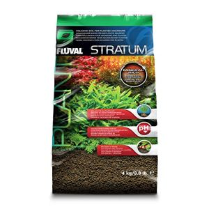 Fluval Stratum volcanic soil for plant or shrimp aquarium, 4 kg