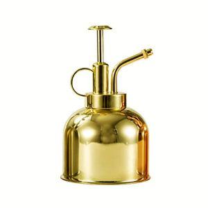 GUYAQ Arrosoir en métal Plante pulvérisateur arrosoir Vintage Plante Fleur arrosoir Vaporisateur Bouteille Mister Laiton Or Jardin arrosoir Pot Outil pour Fleurs,d'or