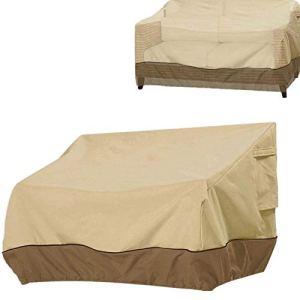 Herbests Housse de protection pour canapé, housse de canapé 3 places, imperméable, coupe-vent, anti-poussière, housse de canapé de jardin, 147 x 83 x 79 cm