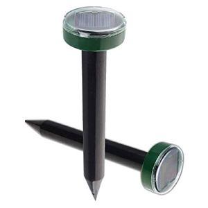 HHYZ Répulsif solaire anti-moustiques, 1/2/4 pièces, étanche, peut être utilisé pour la protection extérieure de la pelouse, repousser les nuisibles (1 pièce)