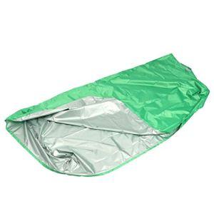 【𝐂𝐚𝐝𝐞𝐚𝐮 𝐝𝐞 𝐍𝐨𝐞𝐥】 Housse de Protection compacte pour Petite Piscine, Couverture de Protection pour Petite Piscine, pelouse de Cour de Couleur Verte Portable pour Chaise de Plage de(150 * 15