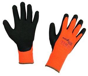 KERON Powergrab Thermo Gants pour Élevage/Agriculture Urbaine Orange Taille 7