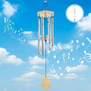Lemecima Carillon Eolien Cloches Musicales Feng Shui Eoliens pour extérieur Jardin et décoration d'intérieur Cadeau