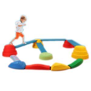 Les Jouets De Gymnastique De Blocs D'équilibre De Faisceau D'équilibre D'intérieur Et D'extérieur d'enfants pour des Enfants Favorisent L'équilibre, La Force, Les Jeux De Sol De Course