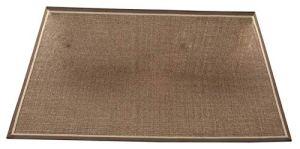 LYB Tappeto Super Soft e antiscivolo Naturel Sisal Salon Chambre À Coucher Table Basse Tapis Tapis De Paille De Style Rustique Tapis Respirants (Color : Brown, Size : 160 * 230CM)