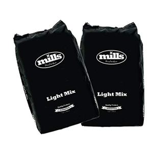 Mills | Pack 2X50L | Terreau Light Mix | Made in Holland | Rempotage Croissance et Floraison | avec Perlite | Terreau Universel | Amsterdam | AUXINE Jardinerie Alternative©