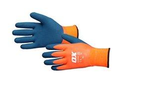 Ox Ox-s483909étanche thermique Gants en latex, Orange/bleu, Taille 9/L