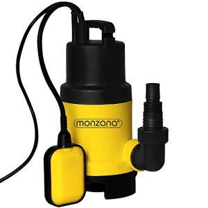 Pompe à eau immergée électrique Piscine évacuation drainage inondation 550 W 11.5 m³/h