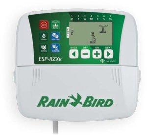 Programmateur d'arrosage Rain Bird RZXe, 8zones, pour l'intérieur avec prédisposition Wi-Fi.