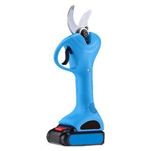 rarusha Électrique sans Fil Ciseaux Tailler Ciseaux avec 2 Batterie Rechargeable au Lithium Propulsé Échenilloir Branch Jardin Clippers