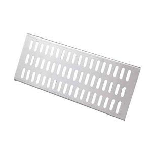 Rigole d'évacuation avec grille, Conduit de draina Couverture de la grille de ravin de vidange, matériau étanche en acier inoxydable Structure stable STABLES de drainage amovible respirant antidérapab