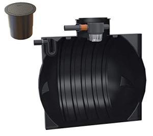 Rotationsvertrieb Gera GmbH & Co.KG Zisterne Océanis Réservoir d'eau de pluie 4000-6000 l (6000 l de jardin)