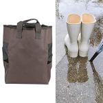 Viccilley Sac pour Bottes de Pluie – Sac de Rangement pour Bottes de Pluie Sacs à Cordon en Tissu Oxford 600D Portables pour Camping Fishi