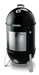 Weber Smokey Mountain Cooker 57cm Grille Barbecue tonneau Charbon de Bois Noir (Grill, Charbon de Bois, 57cm, Cylindre, Noir, Environ)