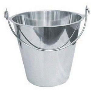 Winco UP-13 Stainless Steel Utility Pail, 13-Quart by Winco