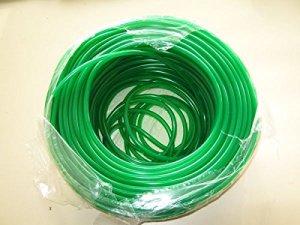 100m PVC Tuyau à air Vert 4/6mm
