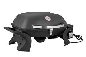 BRASERO – Barbecue électrique Portable City- 2200 Watts – Jusqu'à 8 Convives – Grilles en Acier émaillé – Usage extérieur et intérieur