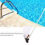 DaMohony Outil de Nettoyage D'étang sous Vide pour Piscine Nettoyeur Sous-Marin à Jet avec Sac pour Étang de Jardin de Piscine.