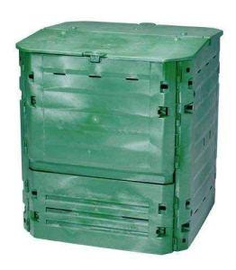 Garantia Composteur Thermo-King Vert + Grille de Fond, Contenance 600 L