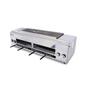 Gas Gas Barbecue au gaz liquéfié Barbecue au gaz naturel Kebab Barbecue Grill (Size : WX-603)