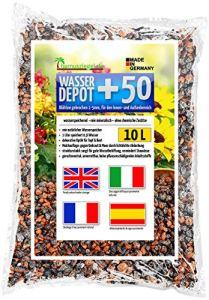 Humusziegel – granulés d'argile expansée 1-5mm concassés, comme réservoir d'eau, contre les mauvaises herbes et l'engorgement 10 L