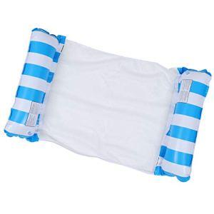 ifundom Hamac d'eau Flotteur Piscine Gonflable Hamac Transat Radeau Chaise Lit de Couchage pour Summer Party Fournitures