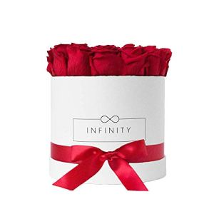 Infinity Flowerbox 3-BW-VR cadeau, Rouge Vibrant