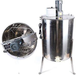 Jintaihua Zephyri Extracteur de miel électrique en acier inoxydable 40 pouces de hauteur Extracteur de miel électrique Extracteur de tisane en nid d'abeille séparateur de miel pour apiculteurs 120 W