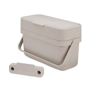 Joseph Joseph – Compo 4 – bac à compostage facile à remplir – 4 litres – Stone