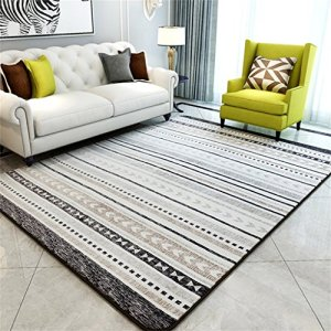 KTYXGKL Rectangulaire Chambre Striped Salon Tapis Tapis Tapis (Color : C, Size : 200 * 240CM)