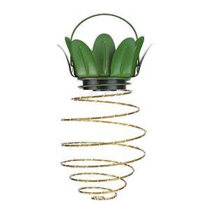 Lanterne Suspendue en Forme de Fruit réutilisable Lanterne Solaire LED String 2pcs pour la Maison