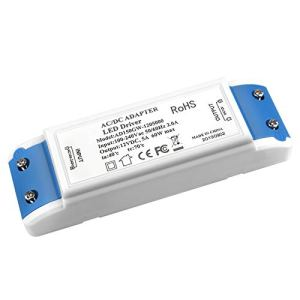 LED Transformateur, MEKEET 60W LED Driver 12V DC 5A Convertisseur LED Transfo Alimentation pour G4 GU10 MR11 MR16 Ampoules LED