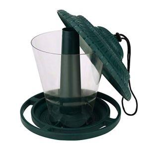 LIANGLEY Mangeoire pour Fenêtre pour Oiseaux De,Couvercle en Plastique Transparent (Color : A)