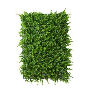 LIYONG Plantes simulées Pelouse Artificielle Pelouse Vert Plantation Murale Fleurs en Plastique (1,97ft * 1,31ft) (Size : 24pack)